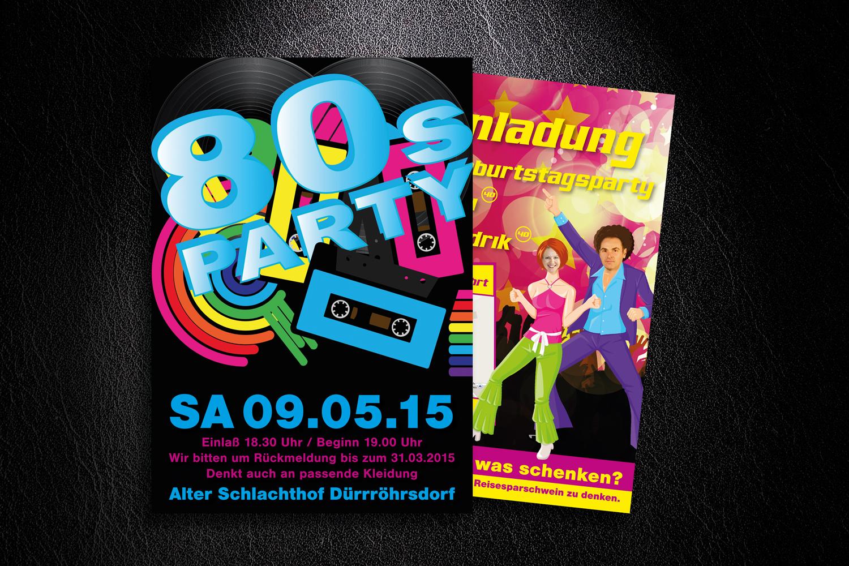 Flyer-80er-Einladung